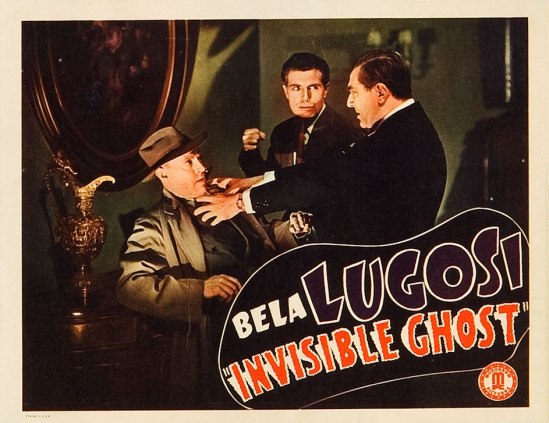 Invisible Ghost Lobby Card 5