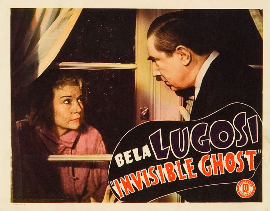 Invisible Ghost Lobby Card 6