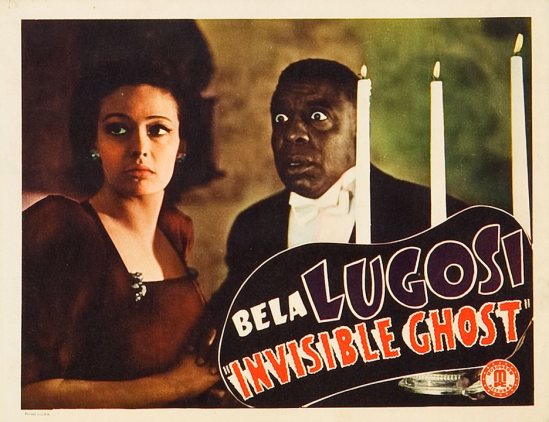 Invisible Ghost Lobby Card 7