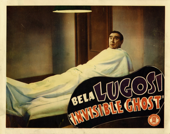 Invisible Ghost Lobby Card 8