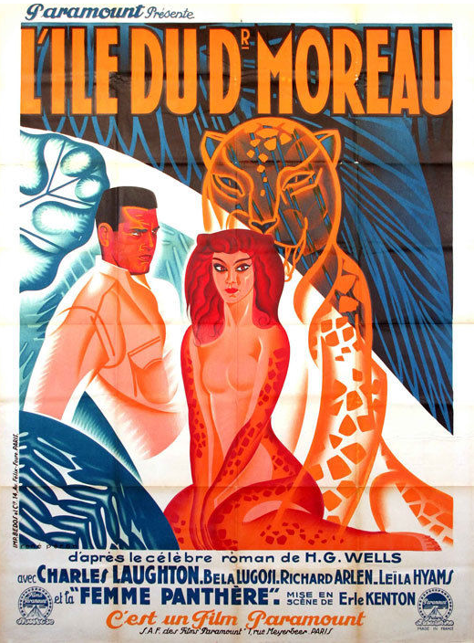 Island of Lost Souls French Poster