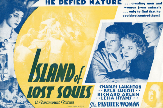 Island of Lost Souls Herald 1