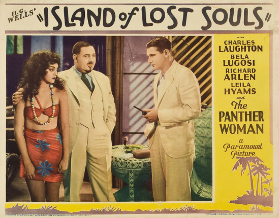 Island of Lost Souls Lobby Card 1