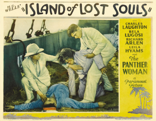 Island of Lost Souls Lobby Card 3