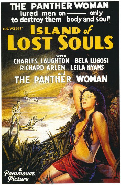 Island of Lost Souls One Sheet