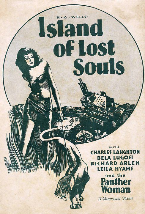 Island of Lost Souls Pressbook 1