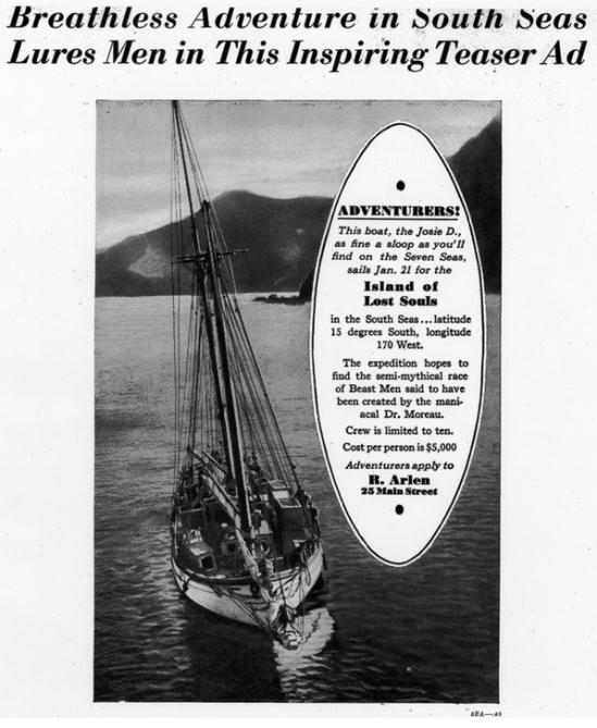 Island of Lost Souls Pressbook 2