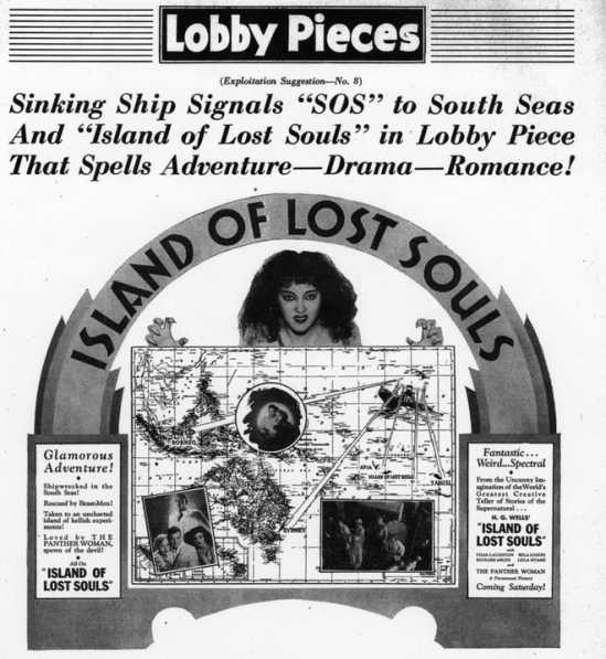 Island of Lost Souls Pressbook 4