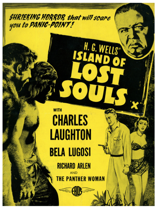 Island of Lost Souls Re-Release Poster