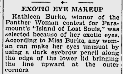 Island Of Lost Souls, Schenectady Gazette, December 29, 1932