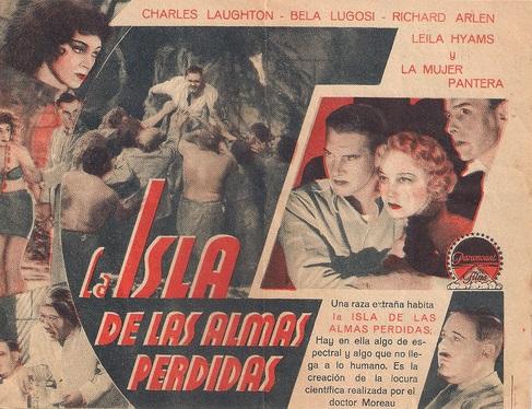 Island of Lost Souls Spanish Herald 2