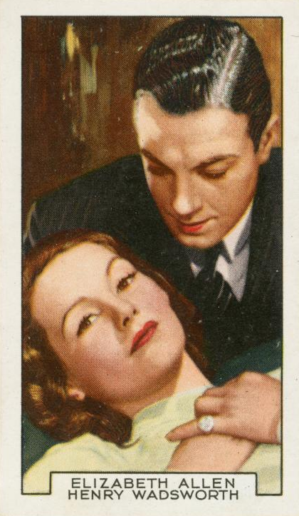 Mark of the Vampire cigarette card