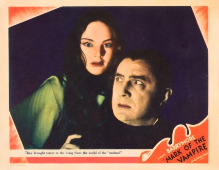 Mark of the Vampire Lobby Card 1