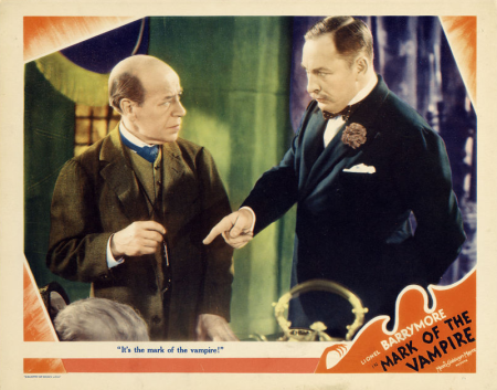 Mark of the Vampire Lobby Card 3