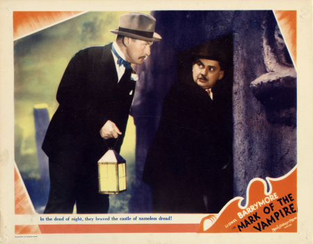 Mark of the Vampire Lobby Card 4
