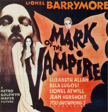 Mark of the Vampire Six Sheet