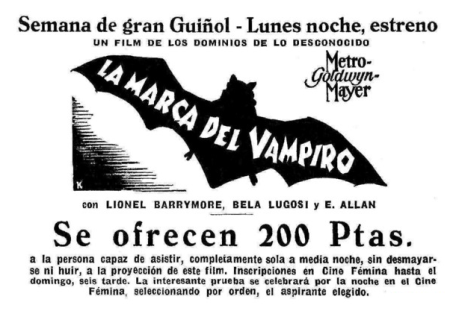 Mark Of The Vampire Spanish 1