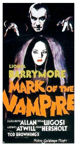 Mark of the Vampire Three Sheet A