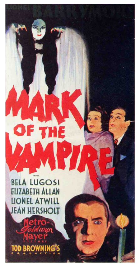 Mark of the Vampire Three Sheet B