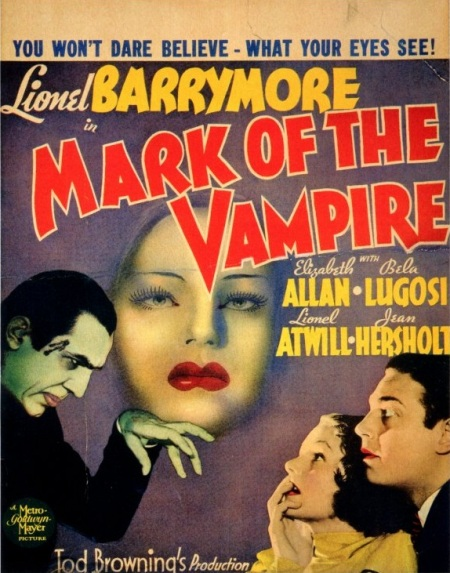 Mark Of The Vampire Window Card
