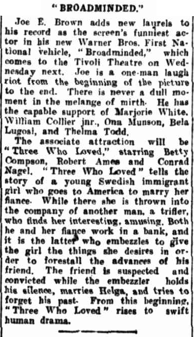 Morning Bulletin (Rockhampton, Qld). January 23, 1932