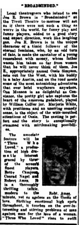 Morning Bulletin (Rockhampton, Qld). January 26, 1932 a
