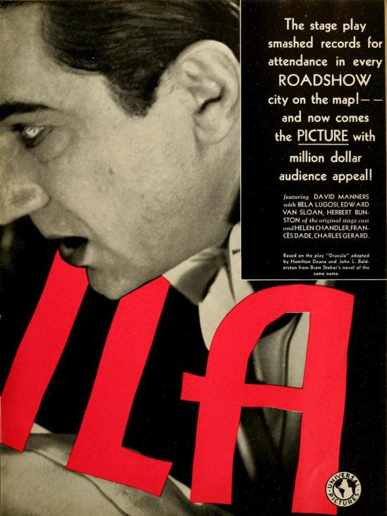 Dracula Motion Picture News, December 6, 1930 3