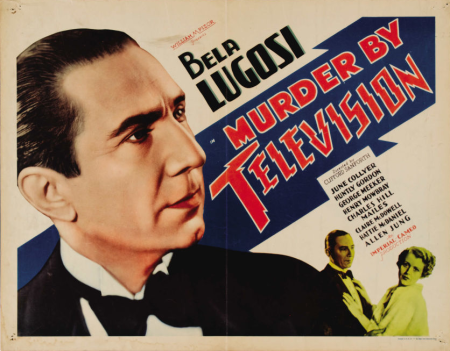 Murder by Television Half Sheet