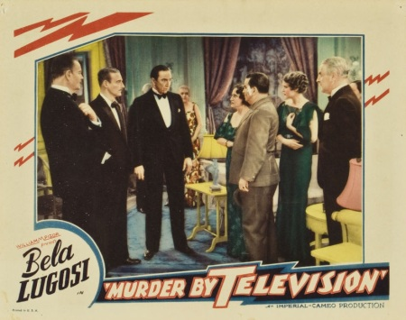 Murder By Television Lobby Card 1