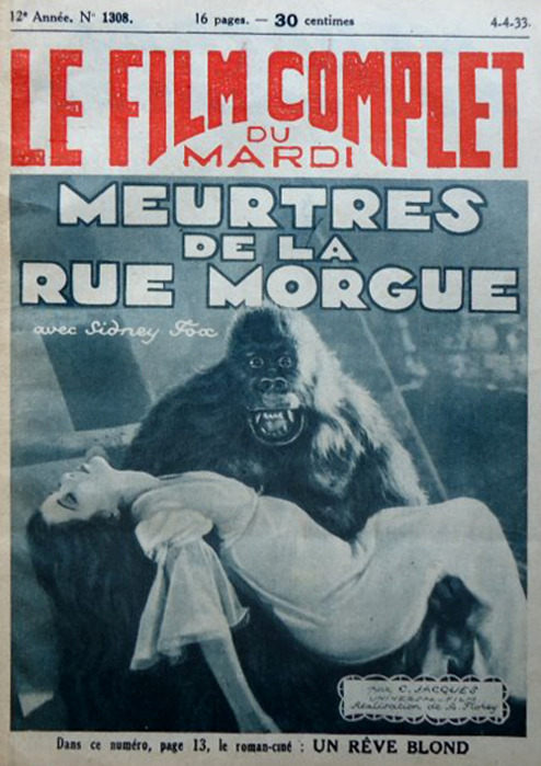 Murders in the Rue Morgue Le Film Complet Du Mardi