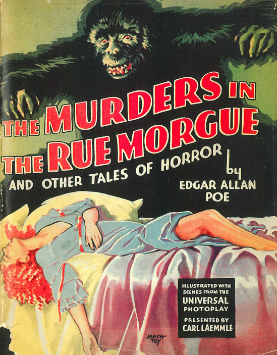 The Murders In The Rue Morgue Photoplay Edition