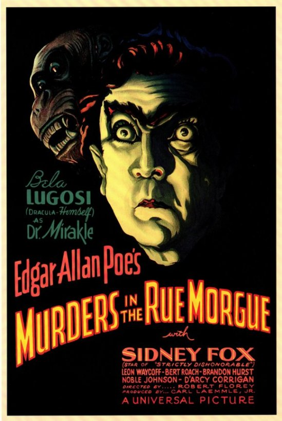 Murders in the Rue Morgue One Sheet