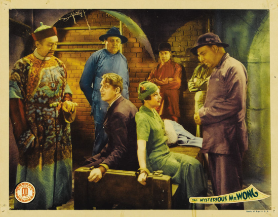 Mysterious Mr Wong Lobby Card 1