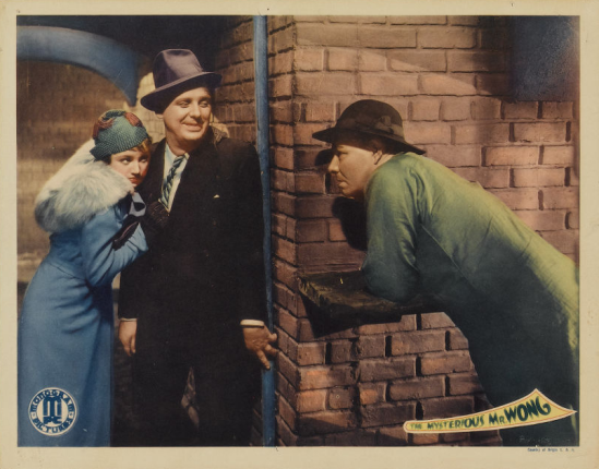 Mysterious Mr Wong Lobby Card 2