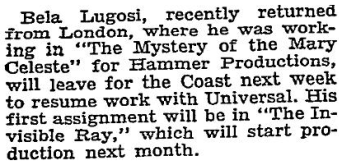 Mystery of the Marie Celeste, The New York Times, Aug 29 1935