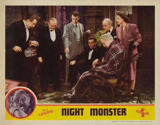 Night Monster Lobby Card 2