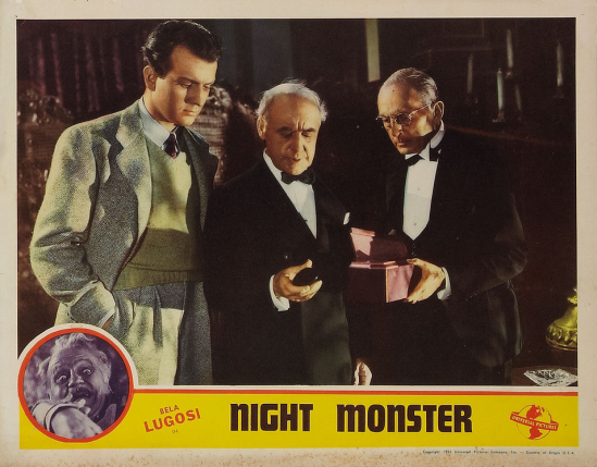 Night Monster Lobby Card 3
