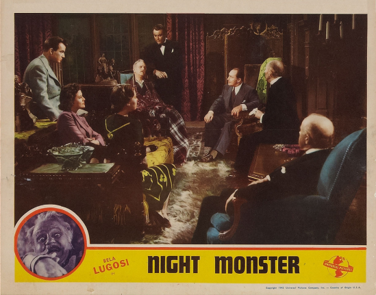 Night Monster Lobby Card 5