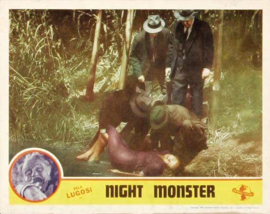 Night Monster Lobby Card 7