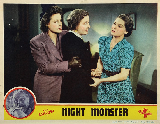 Night Monster Lobby Card