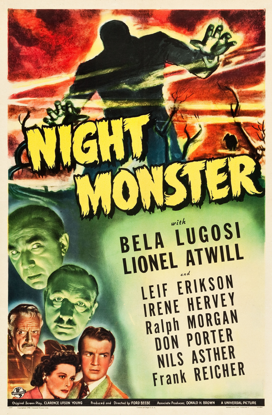 Night Monster One Sheet
