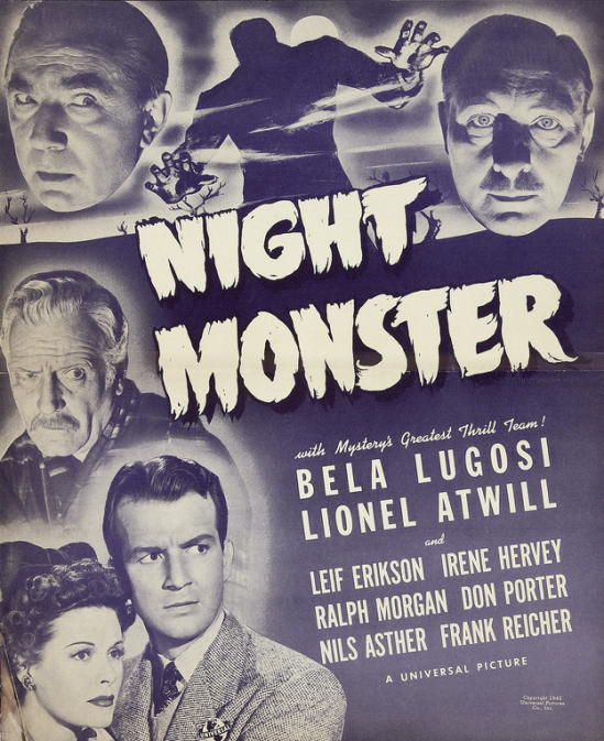 Night Monster Pressbook