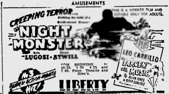 Night Monster, The Age, June 23, 1944 b