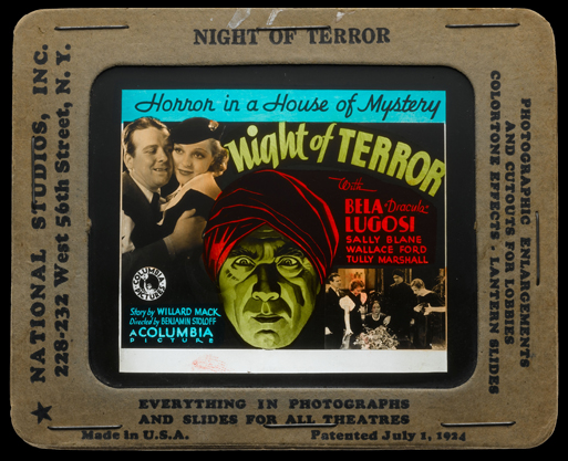 Night of Terror Glass Slide