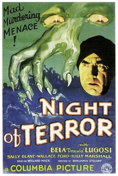 Night of Terror One Sheet