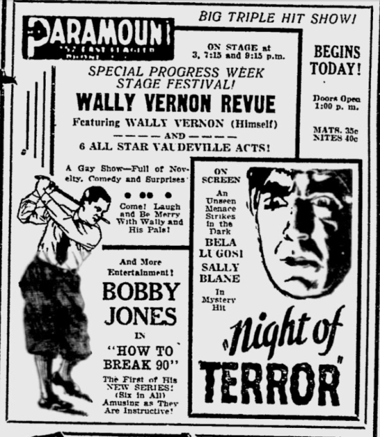 Night of Terror, The Miami News, July 21, 1933