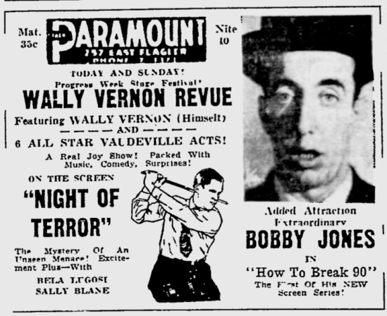 Night of Terror, The Miami News, July 22, 1933 b