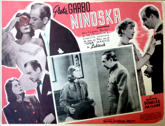 Ninotchka Mexican Lobby Card