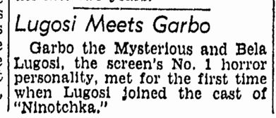 Ninotchka, Richmond Times Dispatch, September 3, 1939