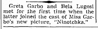 Ninotchka, The Times-Picayune, September 1, 1939